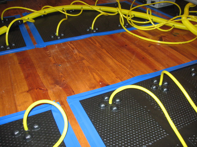 Ma Restoration Inc 187 Floor Drying Mats